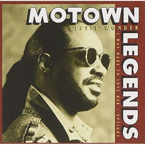 Image 0 of Motown Legends By Stevie Wonder On Audio CD Album 1996