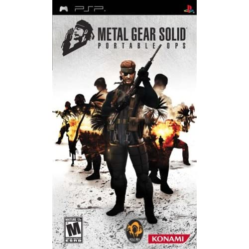 Image 0 of Metal Gear Solid Portable Ops Sony For PSP UMD