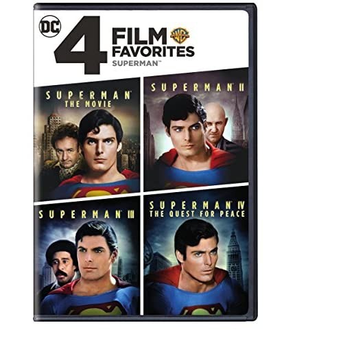 Image 0 of 4 Film Favorites: Superman Superman II: Special Edition Superman III: Deluxe Edi
