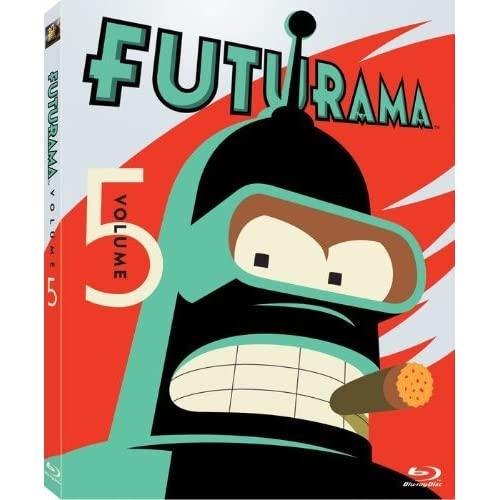 Futurama: Volume 5 Blu-Ray On Blu-Ray With Katey Sagal