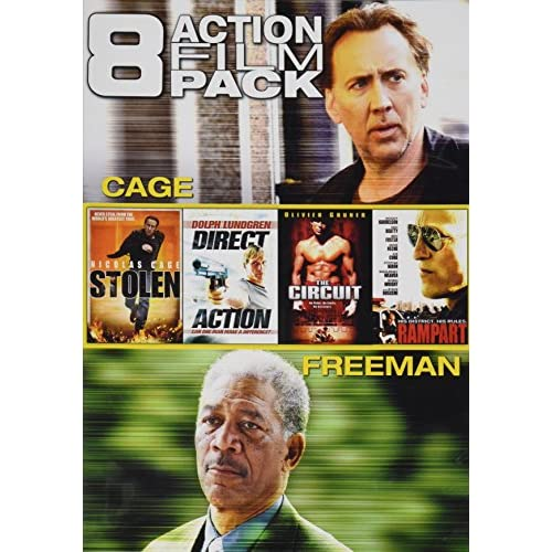 Image 0 of 8 Action Film Pack Stolen / Direct Action / The Circuit / Rampart / Wake Of Deat