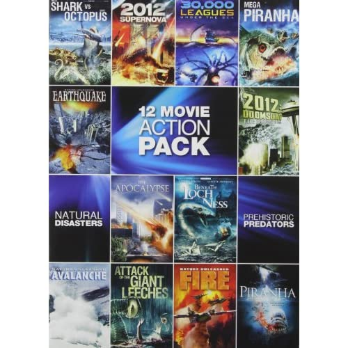12-MOVIE Pack: Sci-Fi Action Pack On DVD