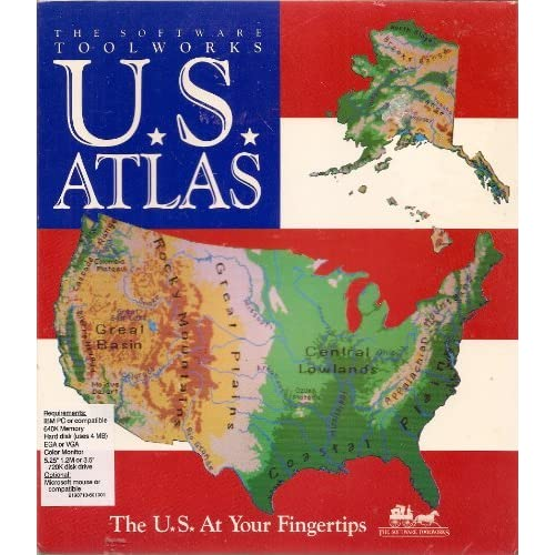 Image 0 of The Software Toolworks US Atlas