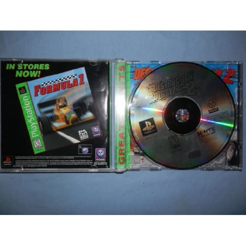 Destruction Derby 2 For PlayStation 1 PS1 Racing With Manual and Case