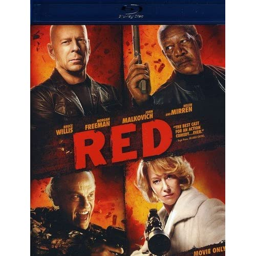 Image 0 of Red Movie-Only Edition Blu-Ray On Blu-Ray With Bruce Willis