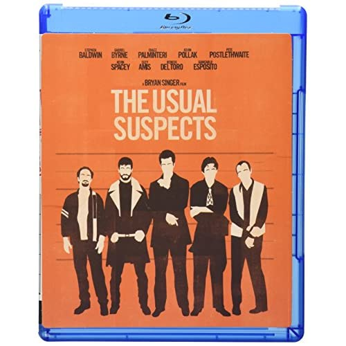 Image 0 of The Usual Suspects Blu-Ray On Blu-Ray With Kevin Spacey