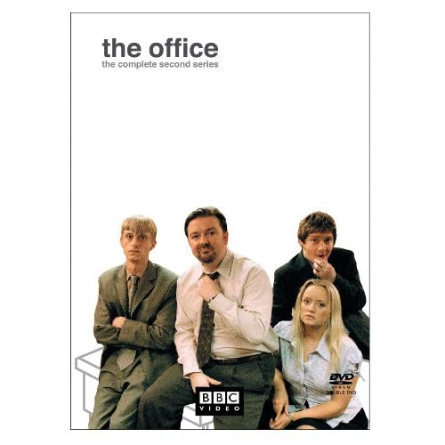 The Office: The Complete Second Series On DVD With Ricky Gervais