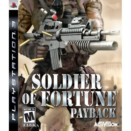 Soldier Of Fortune Payback For PlayStation 3 PS3