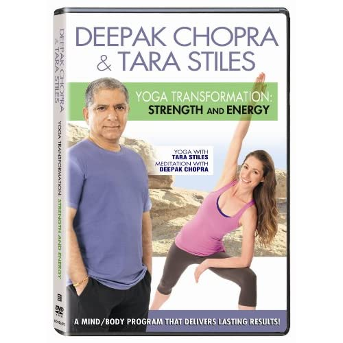 Image 0 of Deepak Chopra Yoga Transformation: Strength And Energy DVD On DVD