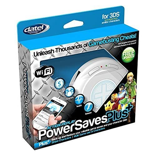 Datel DUS0397 Action Replay PowerSavesPlus+ for Nintendo 3DS Wi-Fi