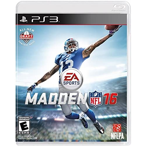 Madden NFL 16 For PlayStation 3 PS3 Football
