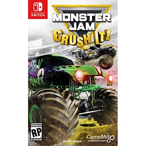 Monster Jam Crush It Standard Edition For Nintendo Switch Racing
