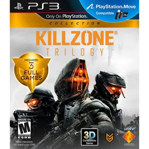 PS3 Killzone Trilogy Collection 2 Disc For PlayStation 3 Shooter