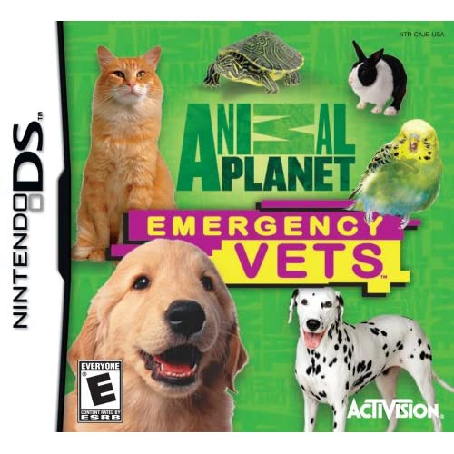 Animal Planet: Emergency Vets For Nintendo DS DSi 3DS 2DS With Manual and Case