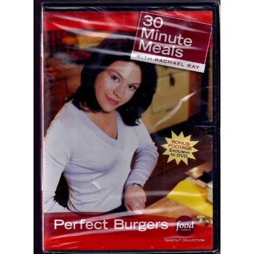 Image 0 of 30 Minute Meals With Rachael Ray Perfect Burgers On DVD