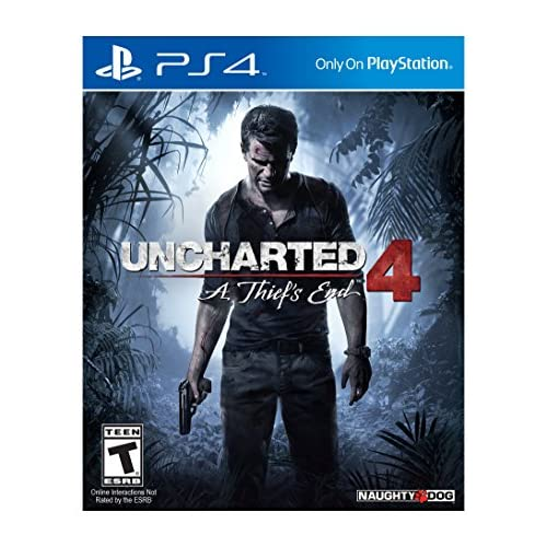 Uncharted 4: A Thief's End PlayStation 4 PS4