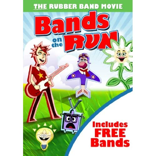 Image 0 of Bands On The Run: The Rubber Band Movie On DVD