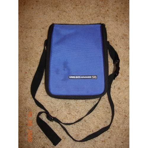 ALS Industries Nintendo Game Boy Advance SP Dark Blue Carrying Case For GBA Game