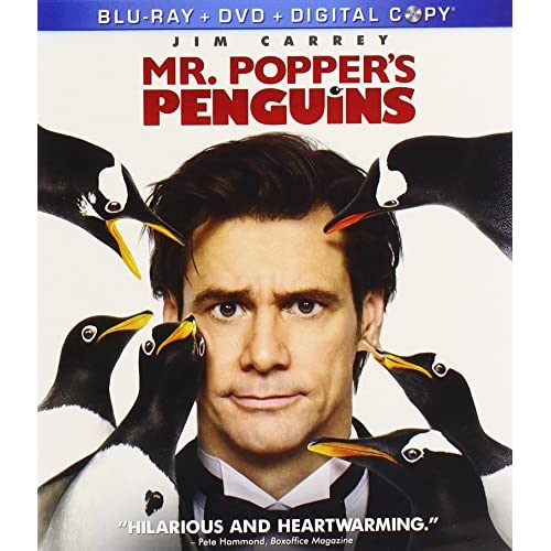 Image 0 of Mr Popper's Penguins On Blu-Ray With Jim Carrey