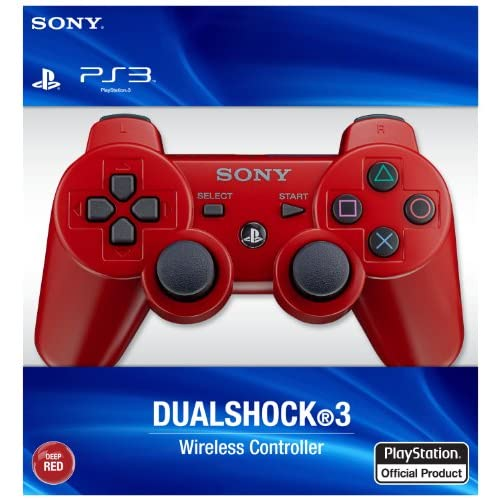 Image 2 of PlayStation 3 Dualshock 3 Wireless Controller Red