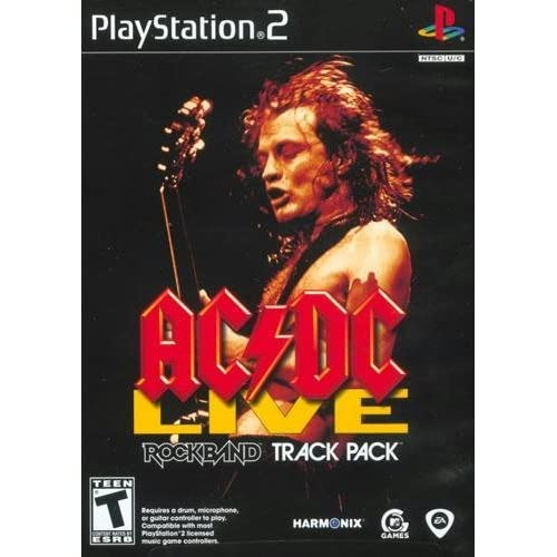 MTV Games 125087 Ac-Dc Live Rock Band Track Pack PlayStation 2 For
