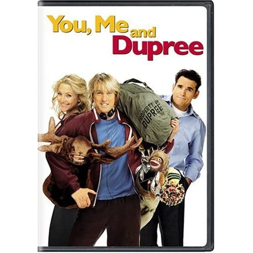 Image 0 of You Me And Dupree Full Screen Edition On DVD with Owen Wilson