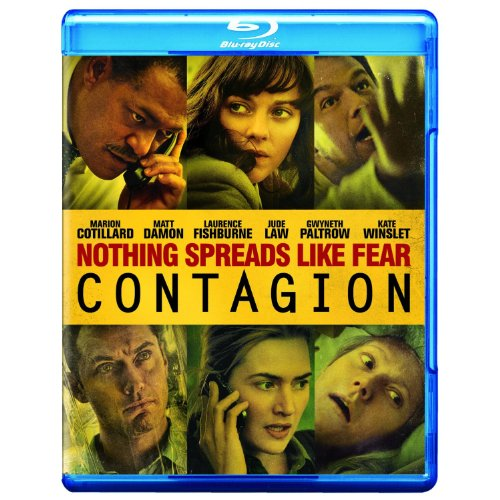 Contagion Blu-Ray On Blu-Ray With Marion Cotillard