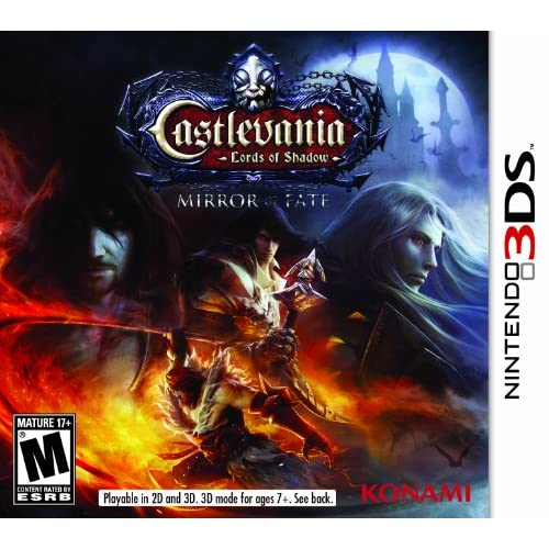 Castlevania: Lords Of Shadow Mirror Fate Nintendo For 3DS