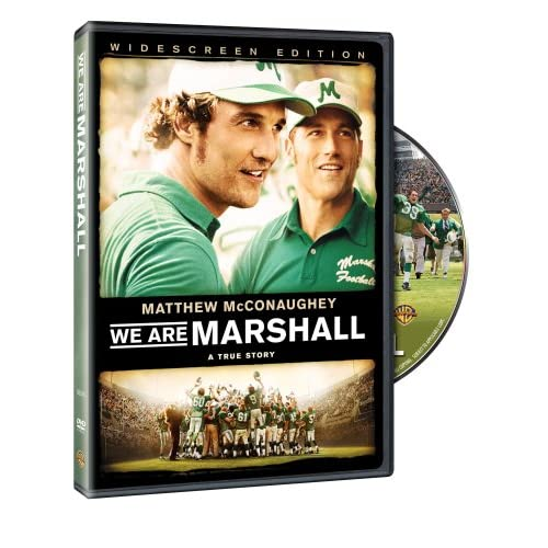 We Are Marshall Widescreen Edition On DVD With Matthew ...