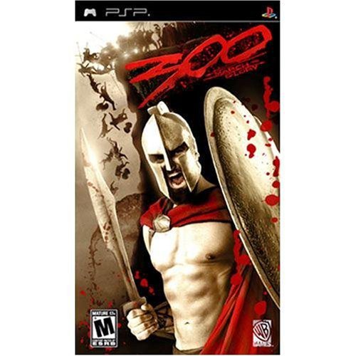 300 March To Glory Movie For PSP UMD