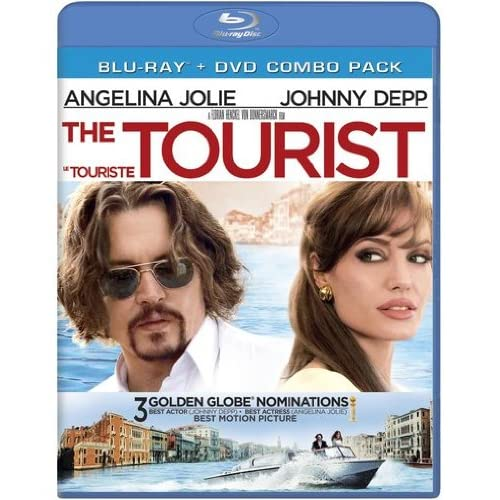 Image 0 of The Tourist Blu Ray/DVD Combo Pack 2011 Johnny Depp On Blu-Ray