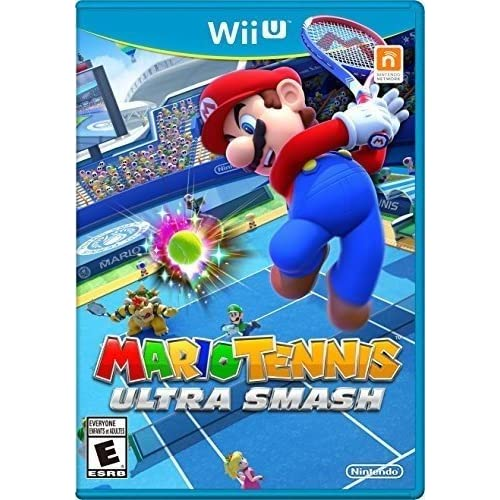 Mario Tennis: Ultra Smash For Wii U With Manual And Case