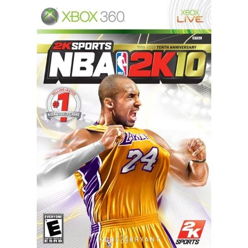 Image 0 of NBA 2K10 For Xbox 360 Basketball
