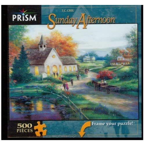 Image 0 of Prism Puzzle Sunday Afternoon Toy Multi-Color 500 Pieces