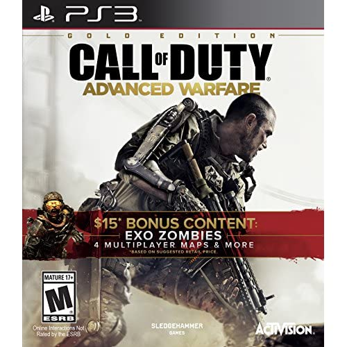 Image 0 of Call Of Duty: Advanced Warfare Gold Edition For PlayStation 3 PS3 COD Shooter