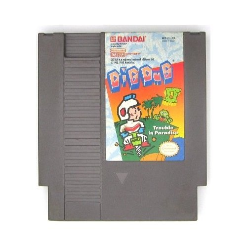 Dig Dug II: Trouble In Paradise For Nintendo NES Vintage