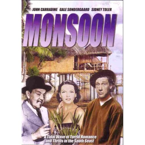 Image 0 of Monsoon On DVD With John Carradine