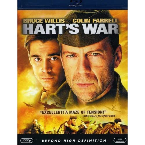 Hart's War Blu-Ray On Blu-Ray With Bruce Willis
