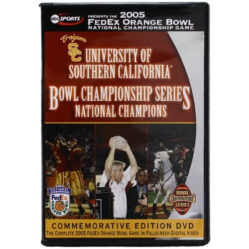 2005 Fedex Orange Bowl National Championship Game University Of Southern Califor