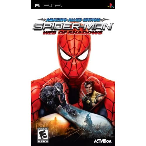Spider-Man: Web Of Shadows Sony For PSP UMD