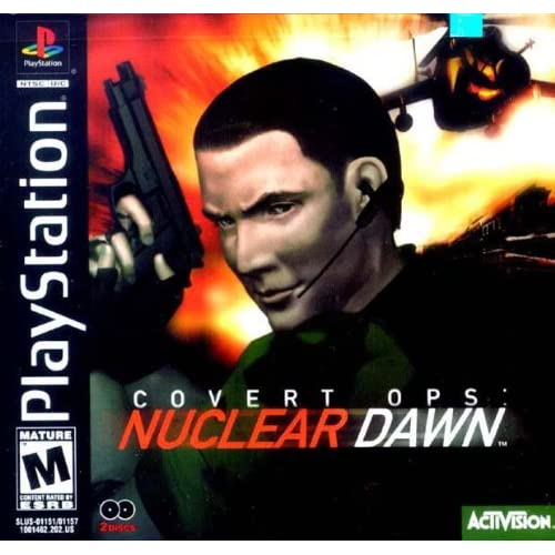 Image 0 of Covert Ops: Nuclear Dawn For PlayStation 1 PS1 Shooter