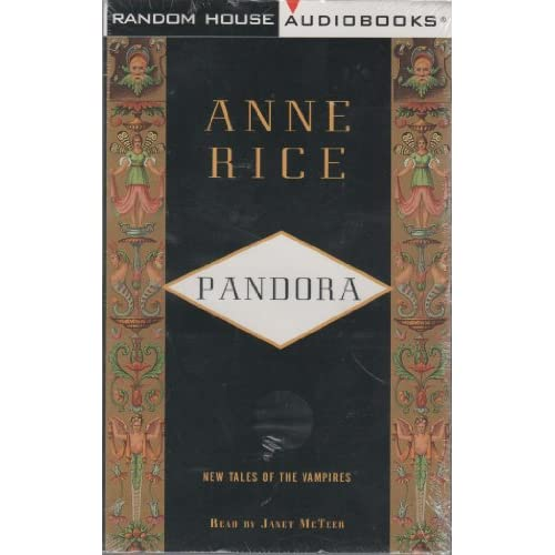 Image 0 of Pandora By Anne Rice And Kate Reading Narrator On Audio Cassette