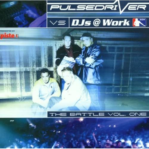 Image 0 of Pulsedriver Vs Dj's A Work Pulsedriver Vs Dj's At Work CD By Secret