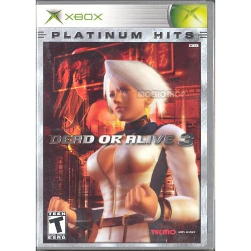 Image 0 of Dead Or Alive 3 Platinum Hits For Xbox Original Fighting