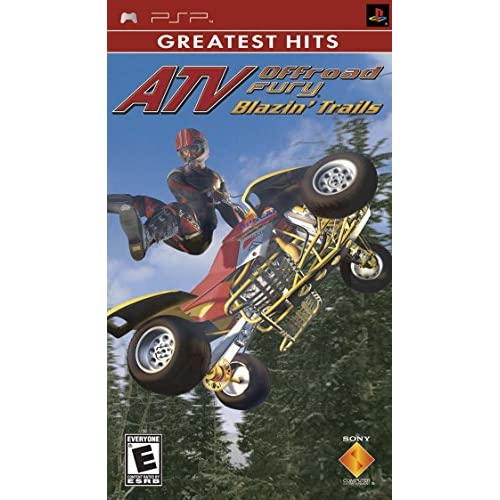 ATV Offroad Fury Blazin Trails Sony PSP