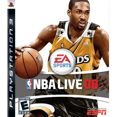 NBA Live 08 For PlayStation 3 PS3 Basketball With Manual And Case