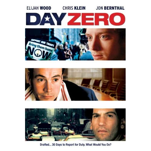 Image 0 of Day Zero On DVD With Elijah Wood Drama
