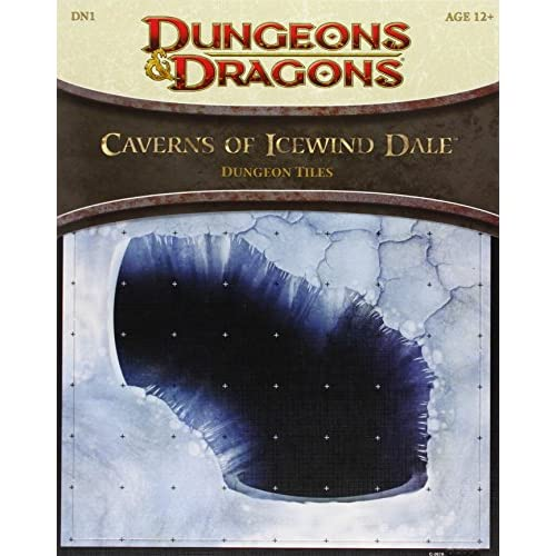 Image 0 of Caverns Of Icewind Dale Dungeon Tiles: A 4th Edition D&d Accessory Toy