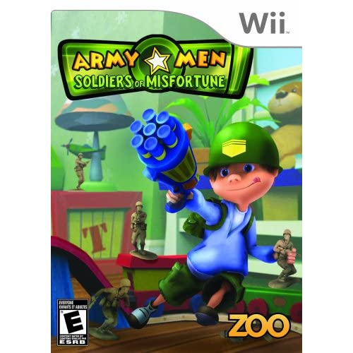 Image 0 of Army Men Soldiers Of Misfortune For Wii And Wii U