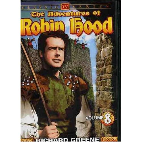 Image 0 of The Adventures Of Robin Hood Vol 8 On DVD With Richard Greene